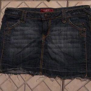 Tyte  Jean mini skirt
